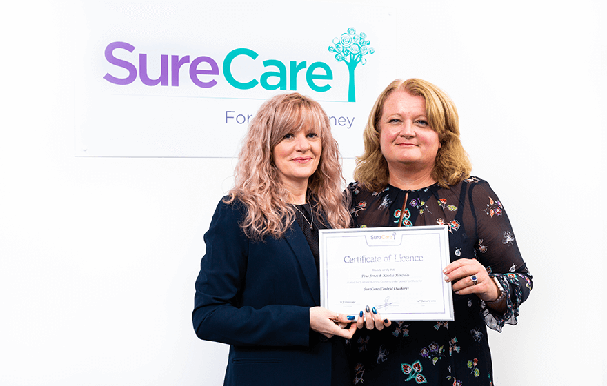 Leadership at SureCare Central Cheshire
